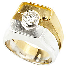 Buy Turner & Leveridge 1980s 18ct Gold Diamond Ring, Gold Online at johnlewis.com