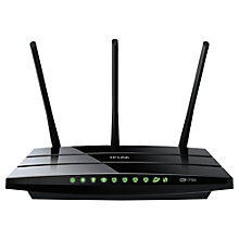 Buy TP-LINK Archer C7 Wireless 1.75Gbps Dual Band Gigabit Router for Cable and Fibre Optic Connections, AC1750 Online at johnlewis.com