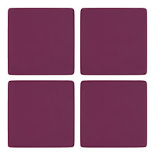 Buy John Lewis Scandi Painted Coasters, Set of 4 Online at johnlewis.com