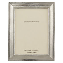 Buy John Lewis Ashridge Pewter Frame Online at johnlewis.com