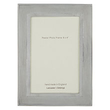 "Buy John Lewis Bantham Pewter Frame, 5 x 7"" (13 x 18cm) Online at johnlewis.com"