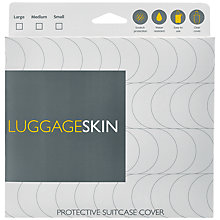 Buy Clear Luggage Skin Online at johnlewis.com