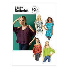 Buy Butterick Women's Dress Sewing Pattern, 5889 Online at johnlewis.com