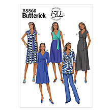 Buy Butterick Maternity Dress Sewing Pattern, 5860 Online at johnlewis.com