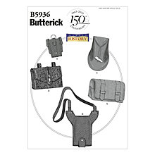 Buy Butterick History Accessories Explorer Kit Sewing Pattern, 5934, One Size Online at johnlewis.com