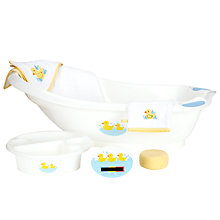 Buy John Lewis Baby Duck Bath Set Online at johnlewis.com