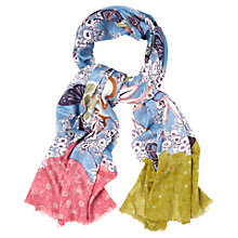 Buy White Stuff Oriental Butterfly Scarf, Multi Online at johnlewis.com