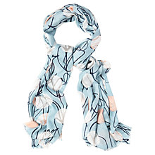 Buy White Stuff Tulip and Spot Print Scarf, Multi Online at johnlewis.com