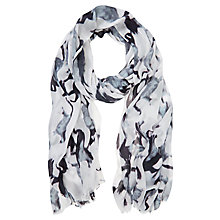 Buy Mint Velvet Eloise Print Scarf, Multi Online at johnlewis.com