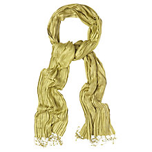 Buy White Stuff Dressy Street Scarf, Green Online at johnlewis.com