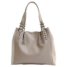 Buy Mint Velvet Hattie Slouch Handbag, Mink Online at johnlewis.com