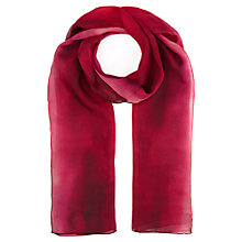 Buy Jigsaw Silk Dip Dye Scarf, Sunset Online at johnlewis.com