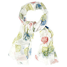 Buy White Stuff Alium Spot  Scarf, Off White Online at johnlewis.com