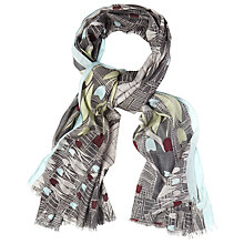 Buy White Stuff Bicycle and Tulip Scarf, Multi Online at johnlewis.com
