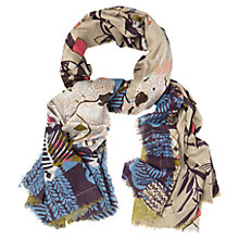 Buy White Stuff Cockatiel Scarf, Multi Online at johnlewis.com