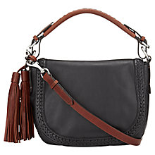 Buy Jigsaw Alicia Leather Shoulder Bag Online at johnlewis.com