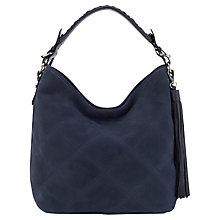 Buy Jigsaw Diamond Quilted Hobo Handbag Online at johnlewis.com