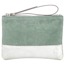 Buy Jigsaw Two Tone Make Up Bag, Seafoam Online at johnlewis.com