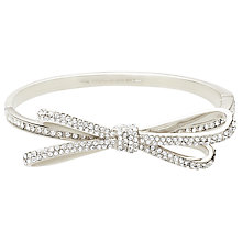 Buy kate spade new york Tied Up Pave Hinged Bangle Online at johnlewis.com