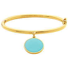 Buy kate spade new york Something Blue Charm Bangle, Tiffany Blue Online at johnlewis.com