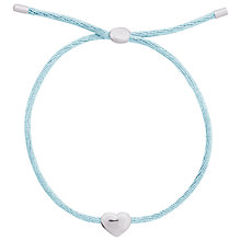 Buy Joma Kiko Silver Plated Heart Friendship Bracelet Online at johnlewis.com