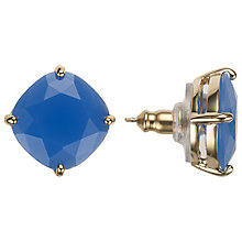 Buy kate spade new york Small Square Stud Earrings, Blue Online at johnlewis.com