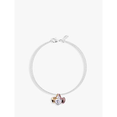 Joma Florence Heart Charms Bracelet, Multi