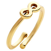 Buy kate spade new york Things We Love Infinity Adjustable Ring Online at johnlewis.com