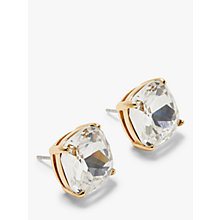 Buy kate spade new york Small Square Stud Earrings Online at johnlewis.com