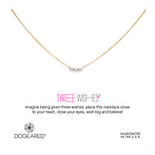 Buy Dogeared Sterling Silver Stardust Bead Necklace, Gold/Silver Online at johnlewis.com