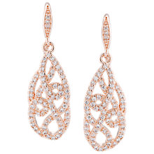 Buy Carolee Teardrop Czech Stone Earrings Online at johnlewis.com