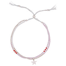 Buy Estella Bartlett Seed Bead Friendship Bracelet, Multi Online at johnlewis.com