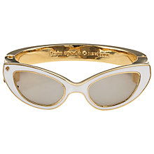 Buy kate spade new york In The Shade Bangle, Gold Online at johnlewis.com