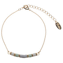 Buy Orelia Sequin Chain Bracelet, Multi Online at johnlewis.com