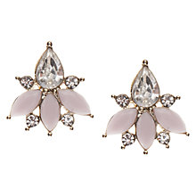 Buy Orelia Stone Crystal Stud Earrings Online at johnlewis.com