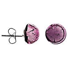 Buy Martick Murano Glass 8mm Stud Earrings Online at johnlewis.com