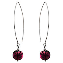 Buy Martick Murano Drop Loop Earrings Online at johnlewis.com