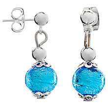 Buy Martick Murano Glass Drop Earrings Online at johnlewis.com