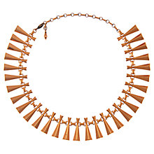 Buy Eclectica Vintage 1950s Renior Copper Necklace, Brown Online at johnlewis.com