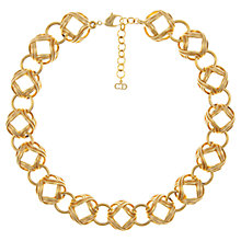 Buy Eclectica Vintage 1970s Gold Plated Christian Dior Necklace, Gold Online at johnlewis.com