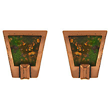 Buy Eclectica Vintage 1960s Matisse Copper Enamel Abstract Earrings, Copper Online at johnlewis.com