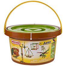 Buy Meccano Junior 100 Parts Bucket Online at johnlewis.com