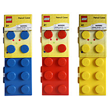 Buy LEGO Stationery Classic Pencil Case, Assorted Online at johnlewis.com