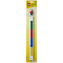 Buy LEGO Stationery 30cm Ruler Online at johnlewis.com