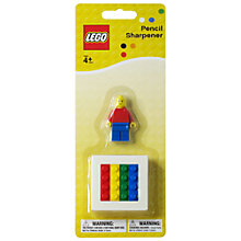 Buy LEGO Stationery Pencil Sharpener Online at johnlewis.com