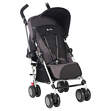 Buy Silver Cross Pop Pushchair, Black Online at johnlewis.com