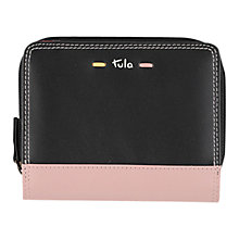 Buy Tula Violet Leather Medium Zip Wallet Online at johnlewis.com