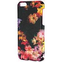 Buy Ted Baker Alli Cascading Floral iPhone 6 Case, Black Online at johnlewis.com