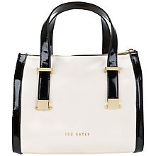 Buy Ted Baker Dacia Crosshatch Bowler Bag Online at johnlewis.com
