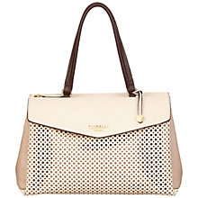 Buy Fiorelli Madison Large Tote Bag, Cerise/Soft White Online at johnlewis.com